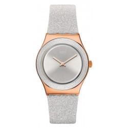 Orologio Swatch Donna Irony Medium Grey Sparkle YLG145