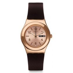 Orologio Swatch Donna Irony Medium Brownee YLG701