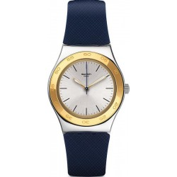 Orologio Swatch Donna Irony Medium Blue Push YLS191