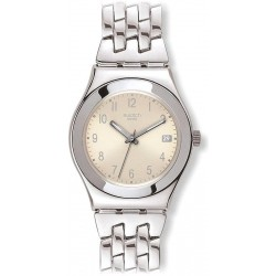 Comprare Orologio Swatch Donna Irony Medium Follow Ways Cream YLS441G