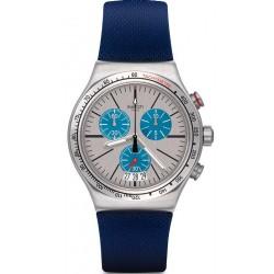 Orologio Swatch Unisex Irony Chrono Blau Me On YVS435