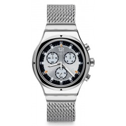 Orologio Swatch Unisex Irony Chrono TV Time YVS453M