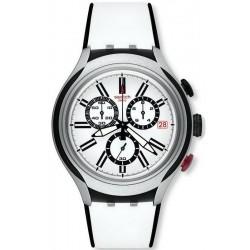 Orologio Swatch Uomo Irony Xlite Black Wheel Cronografo YYS4005