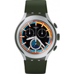 Comprare Orologio Swatch Uomo Irony Xlite Moss Cronografo YYS4009