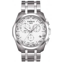 Orologio Uomo Tissot T-Classic Couturier GMT T0354391103100 Cronografo