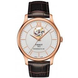 Orologio Uomo Tissot Tradition Powermatic 80 Open Heart T0639073603800